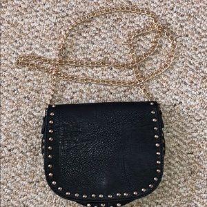 Forever 21 black crossbody small bag